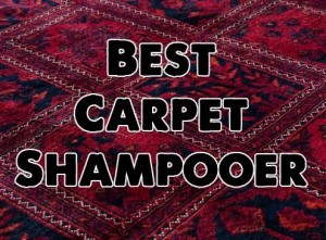 Best Carpet Shampooer Reviews