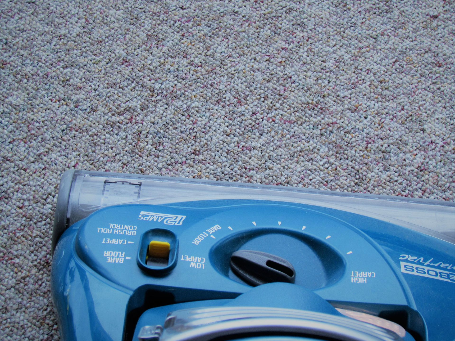 Cleaning Carpet with Cleaning Machine